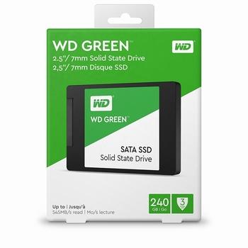 """Western Digital Green SSD 2.5"""" 240 GB"""