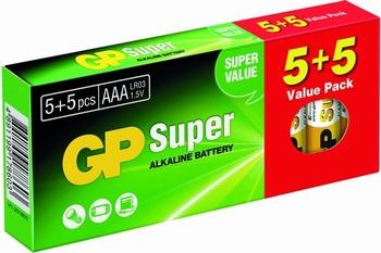 Batterijen GP 10 stuks AAA Alkaline