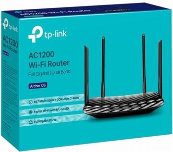 TP-Link Archer C6 AC1200 WiFi 10/100/1000