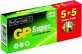 Batterijen GP 10 stuks AA Alkaline